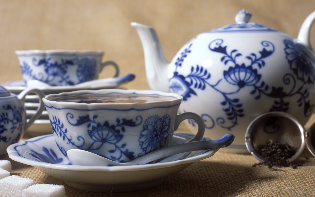 fine china tea set