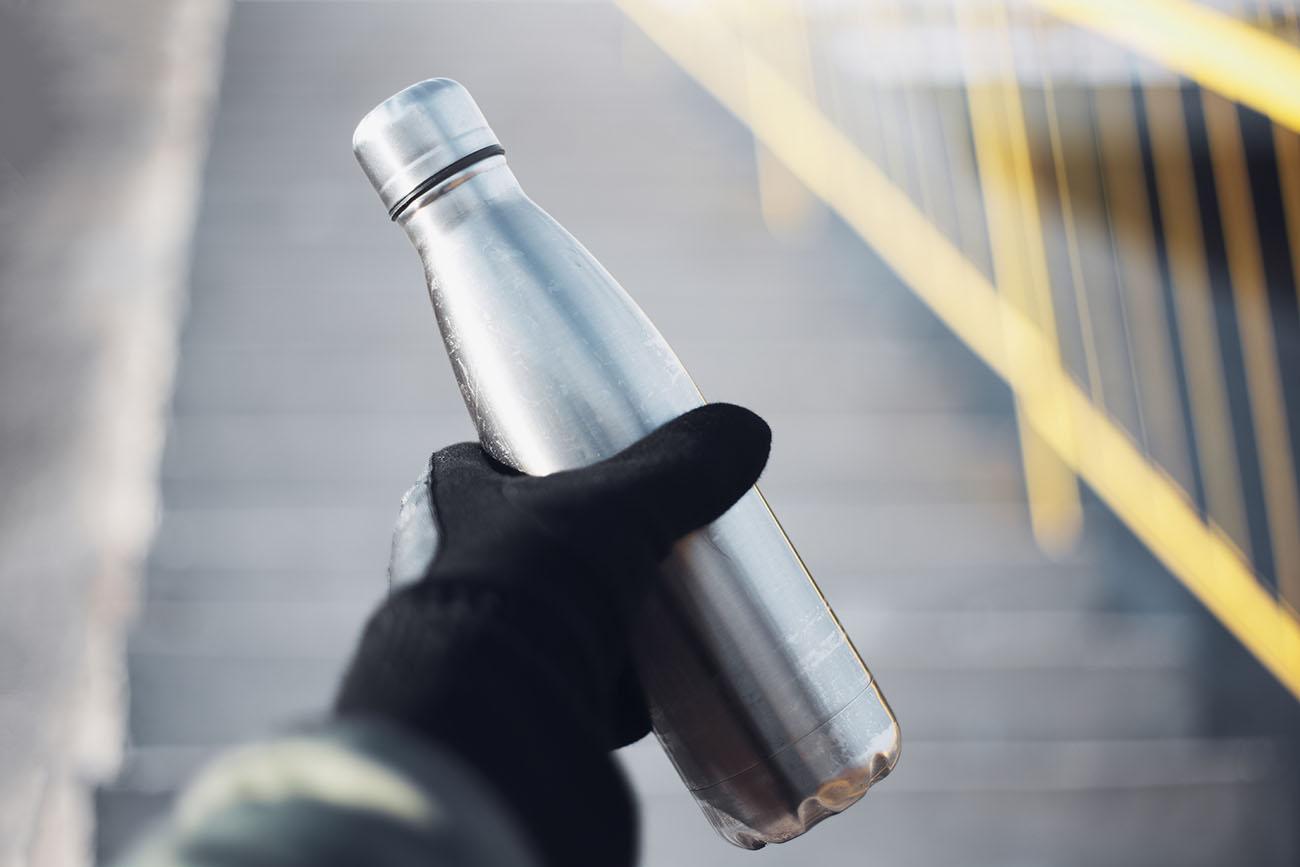 Aluminum tumbler