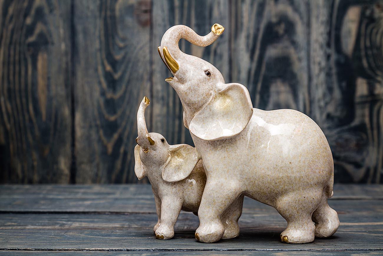 Elephant ivory figurine