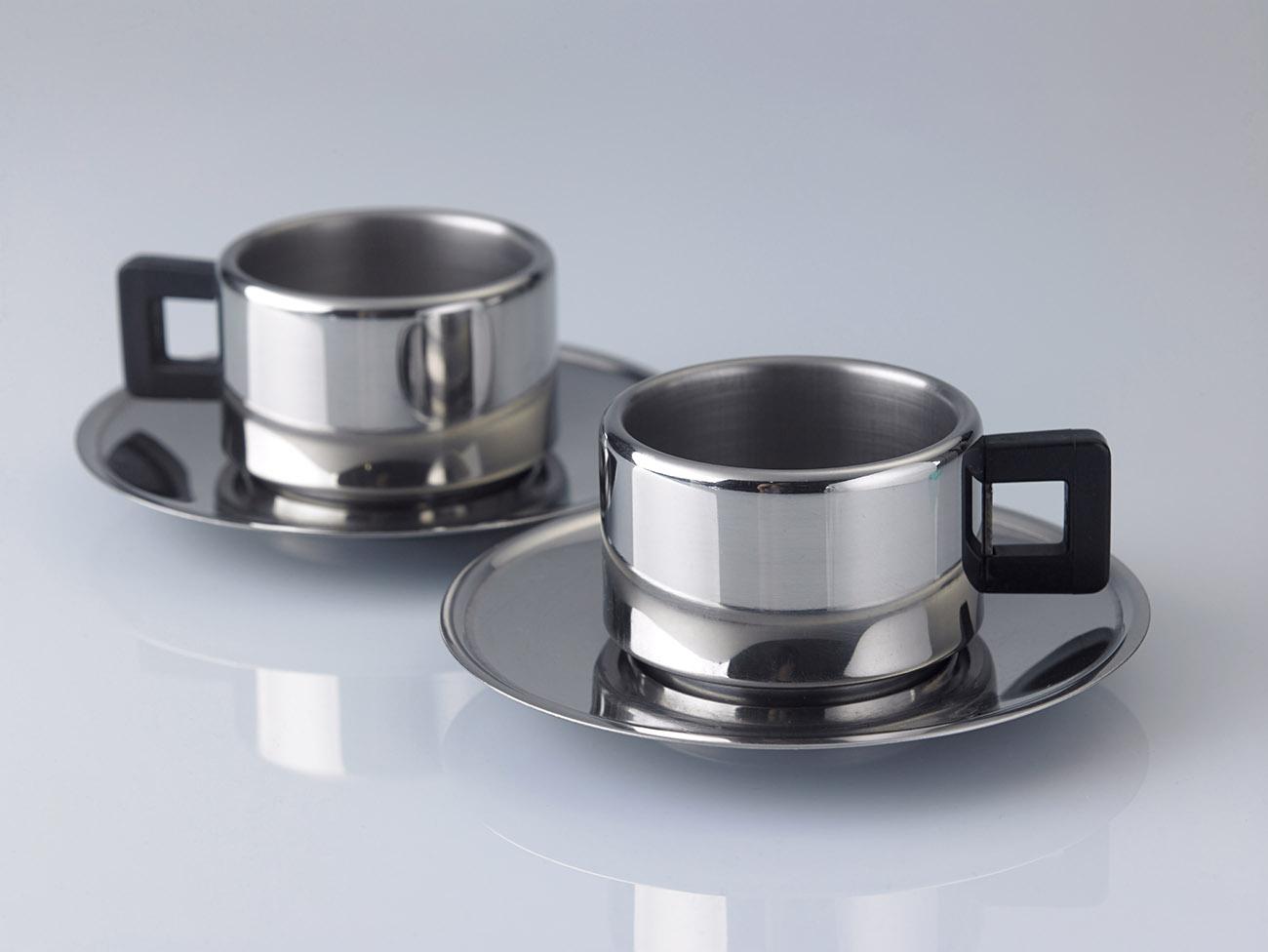 Stainless-steel mug